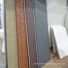 PU dekorative Fassade Wand Siding Panel (Metall, Prägung)