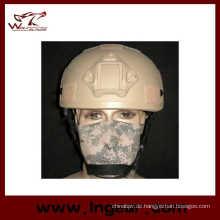 Taktische Mich 2001 Ach Helm mit Nvg Mount Seite Schiene Anti-Aufstand Helm mit Klettverschluss
