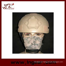 Tático Mich 2001 Ach capacete com Nvg Mount lado trilho anti-motim capacete com Velcro
