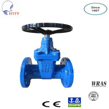 OS&Y resilient sealed gate valve