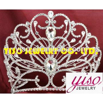 Jóia festa moda decoração de casa coroas de metal
