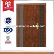 Puerta de hierro moderna Puerta blindada diseños de puerta