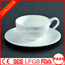 2014 hot sale Europe style porcelain coffee cup set for restaurant
