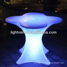 Chine fournisseur conduit lumineux meubles led bar table chaise lampe