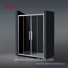 Fan-shape Aluminum Frame Sliding Shower Cabin Frame Walk-in Shower
