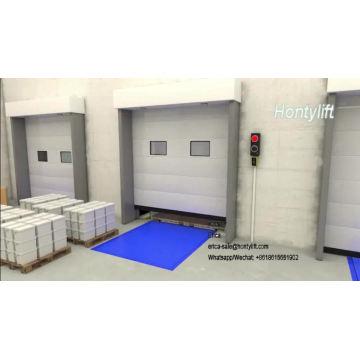Пандус для загрузки контейнера со склада