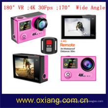 4K 30Fps WiFi Sport Camera 360 degree VR 4K Action Camera