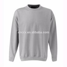 15PKSWT01 2016 hiver tricot épais pull 60% coton 40% poly CVC polaire sweat-shirt