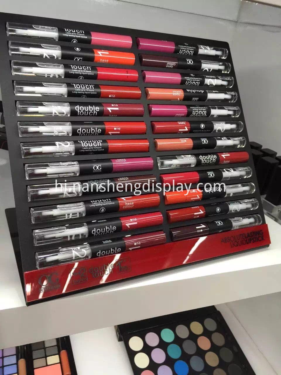 Makeup Product Display