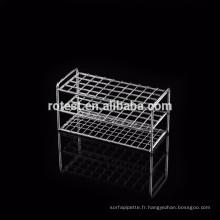 Supports pour tubes à centrifuger en acier inoxydable
