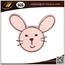 Cartoon Tiermuster Filz Stoff Stickerei Patch für Kleidung
