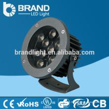 IP65 High Power Epistar LED Chips 9X1W 9W 12W RGB LED Garden Lamp