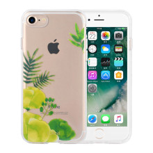 Transparent TPU Case for iPhone7 with Plants