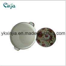 European Enamel Cast Iron Saucepan