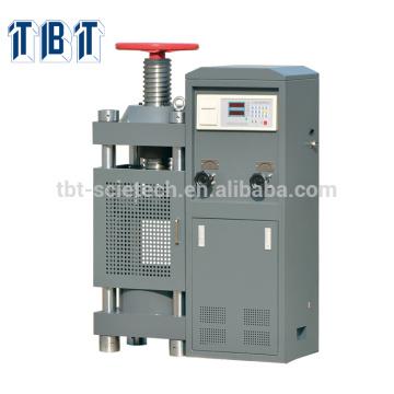 Construção manual da roda de mão de T-BOTA TBTCTM-2000 2000kN Máquina de teste concreta da compressão