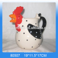 Colchón de cerámica de cerámica en forma de pollo personalizado