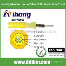 Óptico de una sola fibra blindada cable de interior