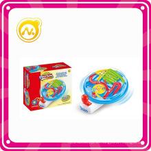 El juguete plástico más nuevo del mini juego del laberinto de la inteligencia