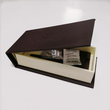 Book-shaped PU Leather Watch Box