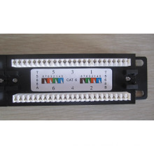 Network Wall Mount Systimax Cat 6 24 port Patch Panel, RJ45 cat6 utp modular 24 ports 3M patch panel