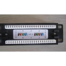 Сетевое настенное крепление Systimax Cat 6 24-х портовая патч-панель, RJ45 cat6 utp модульные 24 порта Патч-панель 3M