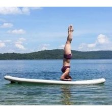 Perfect Shape Water Sport Inflatable Paddle Board for Yoga