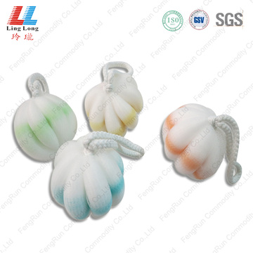 Little durable sponge bath ball