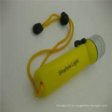 Lâmpada de mergulho loja on-line subaquática 18650 lanterna luz da tocha, luz da tocha de mergulho
