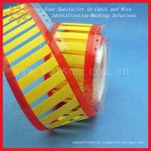 Impressão permanente do tubo do psiquiatra do calor da luva do marcador do cabo da identificação