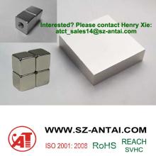 cube neodymium magnet / cube shape neodymium magnet