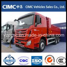 Camião basculante Hyundai 6X4 360 HP carregando 40 Tons