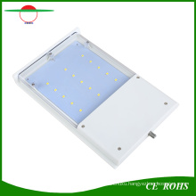 Rechargeable Solar Powered Motion Sensor Lamp 15 LED Waterproof Outdoor Wireless Solar Wall Light Flexible Mini Street Lights