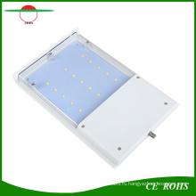Перезаряжаемые Солнечный приведенный в действие Датчик движения Светильник 15 LED Водонепроницаемый Открытый беспроводной Солнечной стены свет гибкие мини-уличные фонари