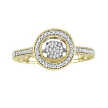 18k Gold Micro Setting Dancing Bijoux en diamant