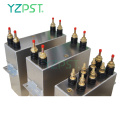 Dc link film capacitor 300uf induction capacitor