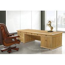 Mobilier de bureau exécutif de bureau de bureau en bois massif de bureau classique (HF-YM8A07)