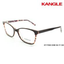 lunettes de conception originale cadre optique clair 2 verres d'acétate de tonalité