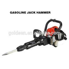 900w 32.7cc Handheld Gasolina Jack Hammer Portátil Gasolina Rock Drill Breaker