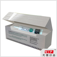 Livre Design personalizado caixas farmacêutica holograma personalizado