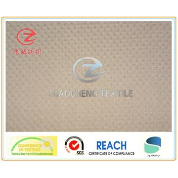 Bird Eye Style N/P Velvet Bonded Fabric (ZCCF036)