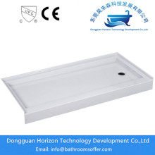 Large size bathroom wash shower tray
