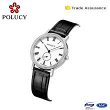 Japan Movt Geneva Limited Edition Genuine Leather Quartz Watch