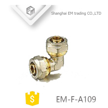 EM-F-A109 Equal elbow brass compression connector pipe fitting