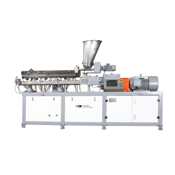 PP Melt Blown Granules Micro Compounder Twin Screw Extruder