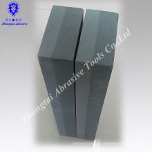 8 polegadas de alta qualidade de carboneto de silício verde afiar pedra de óleo