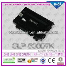 Toner cartridge color toner CLP-500 for samsung chip reset