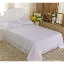 New Collection Bed Modern Style Bed Plain White Hotel/Home Bedding Set (WS-2016070)