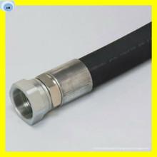 Tuyau hydraulique à haute pression de tuyau en spirale de fil d'acier