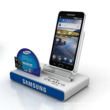 Modern Acrylic Mobile Phone Display Holder, Bespoke Cell Phone Racks
