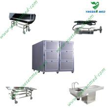 Unités médicales de réfrigération de morgue mortuaire d'acier inoxydable de l'hôpital 201